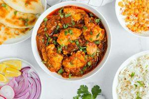 طرز تهیه خورشت مرغ کاری هندی